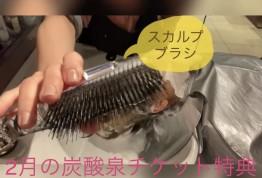 【2月の炭酸泉ソーダスパチケットの特典♡】