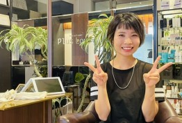 女性スタイリスト川﨑慶子編  2021夏のプチイベント<スタッフ紹介ブログ&動画>