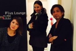原宿で女性スタイリストのみの美容院plusloungeのブログ『菜々緒ちゃんご来店』YUI